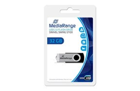 MEDIA RANGE USB FLASH DRIVE 32GB